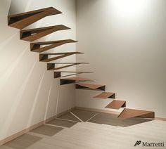 Marretti, premiado en los A+Awards 2015 con su escalera Origami.