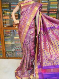 Kanchi pattu Exclusive Saree (KPS037)