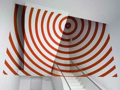 Anamorphic Illusions bySwiss artist Felice Varini