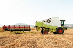Agricultural machinery, work in the field. by Diyanski, via Flickr