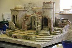 Nativity Scenes, Foam Crafts, Cribs, Bar, Painting, Rustic Christmas Ornaments, Christmas Manger, Miniature Crafts, Births