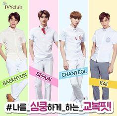 ivyclub_insta IG update with #EXO