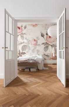 Attractive La Maison Wall Mural Floral Komar Decal XXL4 034 #bedroomdesign