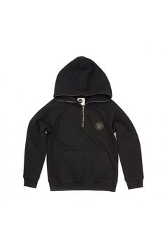 Unbrushed fleece hoodie featuring quilted panels, zip through hood and single pouch pocket. Garment washed to give a unique, super soft finish. Pre-shrunk 100% Cotton. Available in Granite and Onyx.