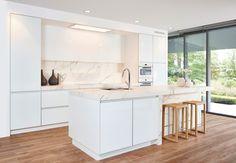 Modern Kitchen Design, Interior Design Kitchen, Interior Ideas, Sirius, Cozy Kitchen, Kitchen Ideas, Laque, Cuisines Design, House 2