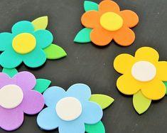 307 Mejores Imagenes De Flores Foami Fabric Flowers Paper Flowers