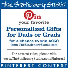 The Stationery Studio Dads and Grads 2016 Contest