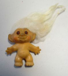 when I was a kid, had a troll just like this.Went to school with me and lived in my desk.