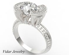 2.65 Ct Diamond Engagement Ring