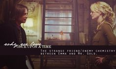 The Strange Frend/Enemy Chemistry Between Emma And Mr. Gold!