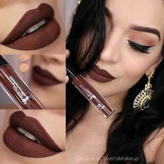 Chocolate-y Brown Glam - Cool and Creative Lipstick Colors to Try Now - Photos
