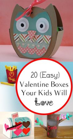 20 {Easy} Valentine Boxes Your Kids Will Love - Decoration For Home Valentine Boxes For School, Kinder Valentines, Valentines Day Funny, Valentine Day Crafts, Valentine Ideas, Valentine Stuff, Valentinstag Party, Valentine's Day Quotes, Diy Valentine's Box
