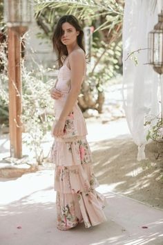 Gone are the days where weddings and wedding receptions mean securing the reception hall at one's local church that is around the corner. Bhldn Bridesmaid Dresses, Bridesmaid Pyjamas, Brides And Bridesmaids, Bridesmaid Gifts, Girlie Style, Maxi Outfits, Party Outfits, Dinner Outfits, Teen Outfits