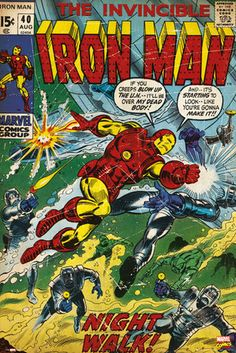 MARVEL - iron man comic posters   art prints