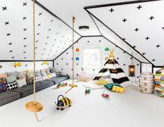 Modernes Kinderspielzimmer im skandinavischem Stil