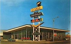 1963 Ed Black's Chevrolet Dealership, Albuquerque, New Mexico Highland High School, Route 66 Sign, Duke City, New Mexico History, Chevrolet Dealership, Albuquerque News, Vintage Architecture, Drive In Theater, New Mexican