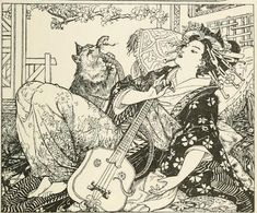 Mythology and Folklore UN-Textbook: Japanese Fairy Tales: The Cat's Elopement Week 6 Reading Favorite