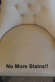 The Shabby Nest: How to Clean Linen Upholstery~