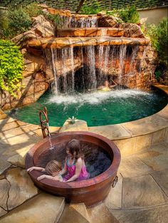 Garden Spa, Backyard Spa, Luxury Spa