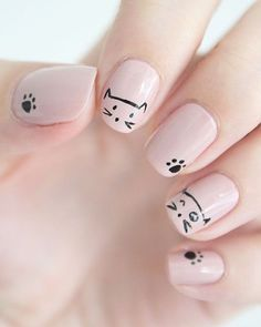 Pin for Later: Es wird wild auf euren Fingernägeln mit diesen 49 tierischen Nageldesigns