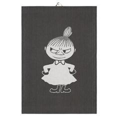 Big little My tea towel from Ekelund Linneväveri - NordicNest.com Big Little, Hand Towels, Tea Towels, Fairy Statues, Tove Jansson, Swedish Brands, My Tea, Cute Images, A Comics