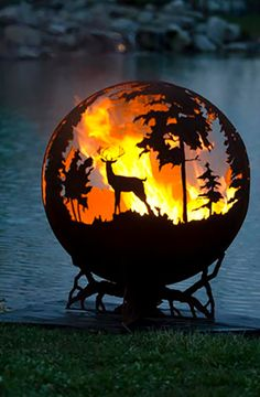 Cottage Life-- Mobile -- 9 metal fire pits that are gorgeous works of art