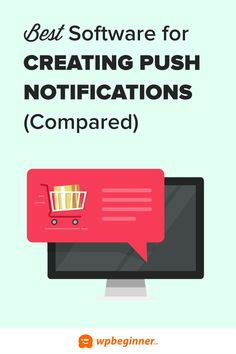 7 Best Web Push Notification Software in 2021 (Compared) Web Push Notifications, Wordpress Plugins, Ecommerce, Computer Help, Website Web, Email Marketing Services, Phone Service, Best Web, Helpful Hints