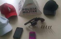 De folga, policiais auxiliam na prisão de trio em Santo Antônio do Monte.>http://goo.gl/8JN3ie