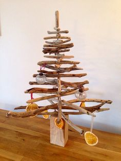 Driftwood Christmas Tree by ThreadMillLane on Etsy, £45.00