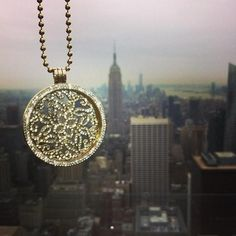 Incredibly gorgeous fan pic of the Sparkling Baroque Nikki Lissoni coin from the top of Rockefeller Center! #NYC -xx-