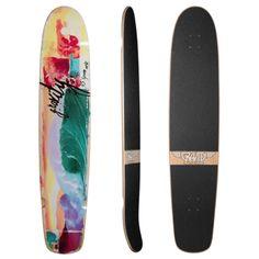 Gravity Spoon Nose Longboard Skateboard Deck w/ Grip