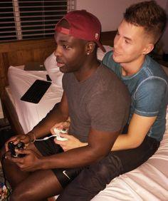 Hot gay interracial