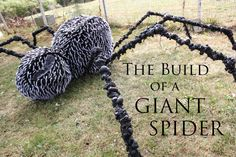 Build Tutorial for making a Giant Spider