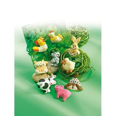 FIMO® Accessoires Motivformen und Gießformen Bead Organization, Talisman, Life Form, Craft Box, Diy Clay, Czech Glass Beads, Farm Animals, Silicone Molds, Art Decor