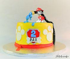 PAW CONTROL CAKE (Tarta de la Patrulla canina) by Lilileando