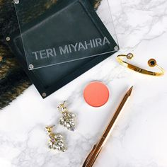 SNEAK PEEK // Here's a preview of 2 out of 4 products included in the next #TeriMiyahiraBeauty box that starts shipping next week!  We are debuting a new line of pan-form products that will be soon available for individual purchase on our website and we figure to launch this new line in the monthly box! The makeup included in the next box is limited edition to the box (so it won't be available on the website later). Pictured is a blush color that actually looks way more pink in real life…