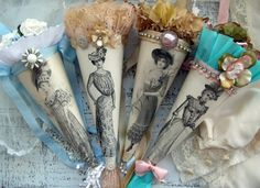 Victorian Lady Tussie Mussies