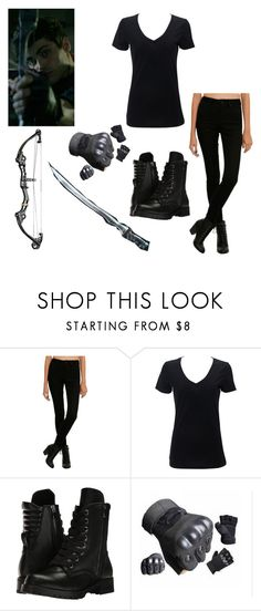 """""""Genderswapped Alec Lightwood : Shadowhunters"""" by drunkenwolfchild ❤ liked on Polyvore featuring Hot Topic, Simplex Apparel and Capezio"""