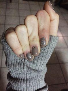 Semipermanente con nail art super sbrilluccicosa✨ #nails #blogger #unghie #nailart