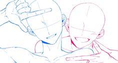 Poses Anime, Manga Poses, Drawing Base, Manga Drawing, Art Drawings Sketches, Cool Drawings, Drawing Couple Poses, Anime Poses Reference, Couple Poses Reference