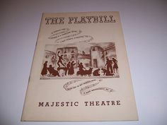 MAR 1942 MAJESTIC THEATRE PLAYBILL - PORGY AND BESS - TODD DUNCAN & ANNE BROWN