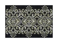 Decorative Motif - Machine Embroidery Design