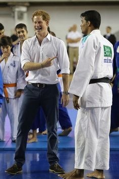Pin for Later: It's Safe to Say Prince Harry's Having a Blast in Brazil