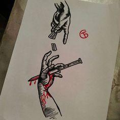 "По фильму ""Пуля"" 1996 #эскиз #лайнворк #лайнарт #дотворк #чёрнаятатуировка #булатарт #маргиналарт #булатсубханкулов ""the Bullet""1996 #sketch #linework #lineart #dotwork #blacktattoo #bulatart #bulatsubkhankulov #marginalart #bullet #the bullet #вао #гольяново #golyanovo Будьте"