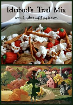 Ichabod's Trail Mix - Celebrate Halloween with Disney's Legend of Sleepy Hollow | Capturing Magic