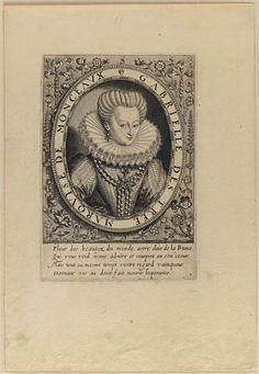 Gabrielle d'Estrée (1573-1599) favourite at court. ... Leu Thomas de (1560-1612)