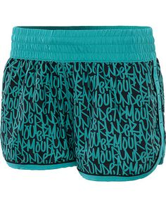 UNDER ARMOUR Womens Great Escape 3-Inch Printed Shorts #divinecaroline