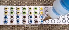 Kimsmom76: Edible Icing Eyeballs- Tutorial
