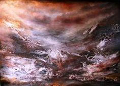 "Saatchi Art Artist Henrie Haldane; Painting, ""ELEMENTS"" #art"