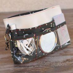 Organiseur de sac blanc gris rouge nœuds papillon Couture, Bangles, Bracelets, Hermes, France, Etsy, Jewelry, Gray, Handbag Organizer